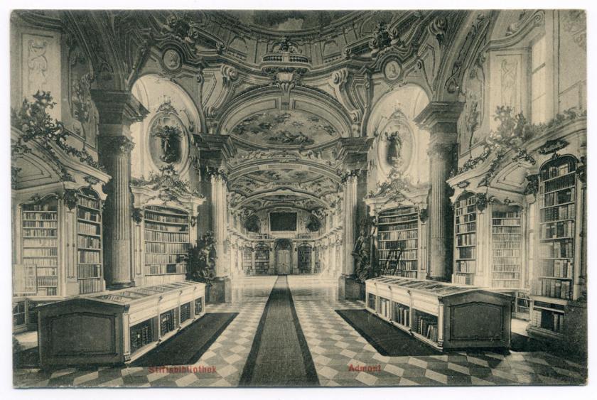 Admont: Stiftsbibliothek