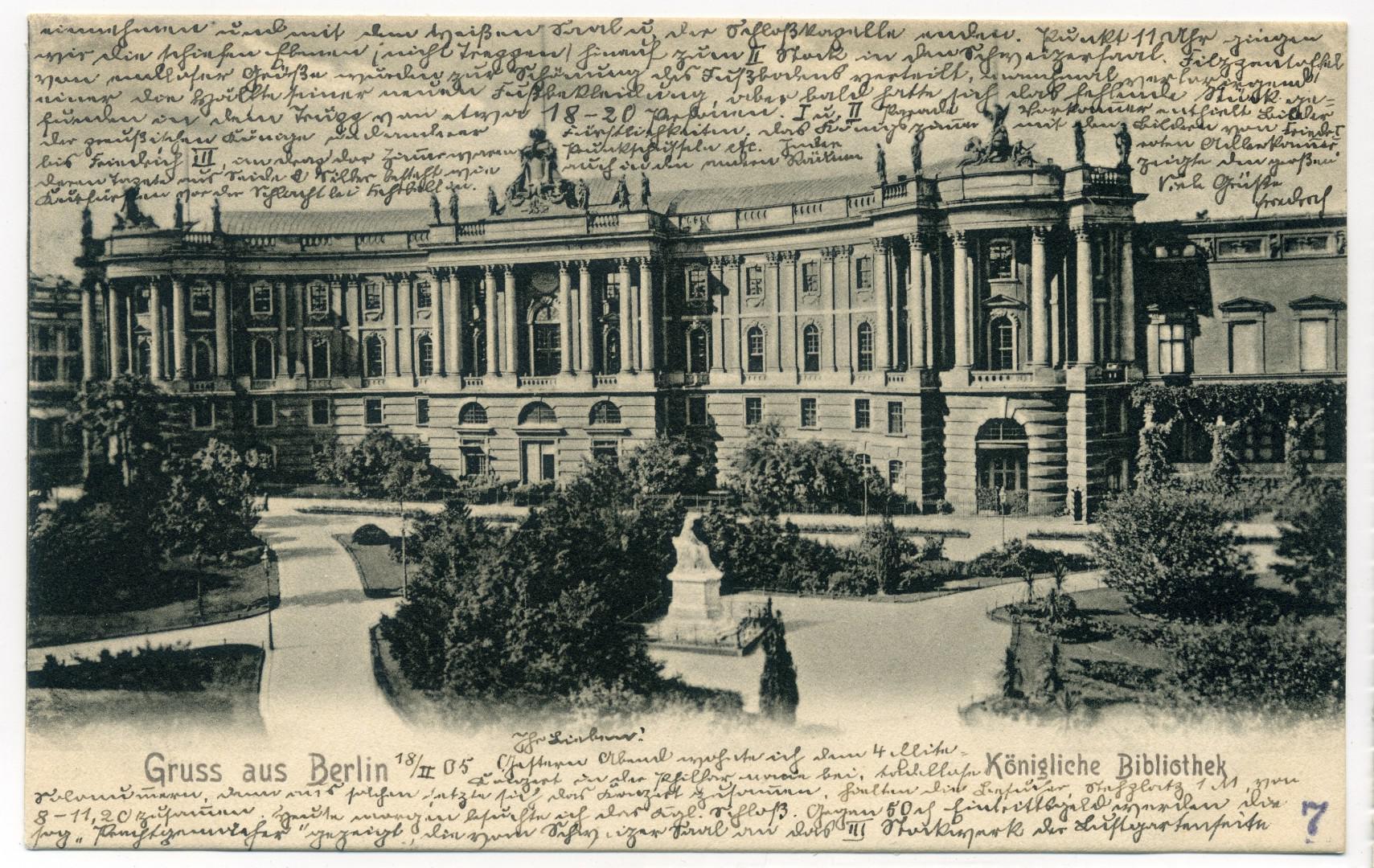 Berlin: Königliche Bibliothek