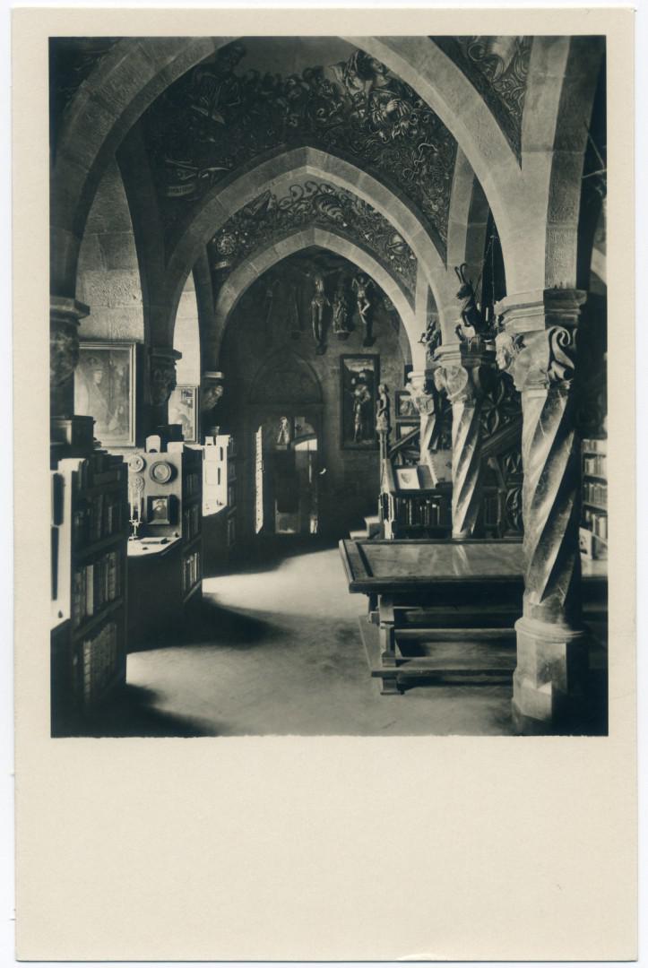 Leobendorf: Burg Kreuzenstein, BIbliothek