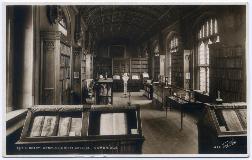 Cambridge: Corpus Christi College, Parker Library