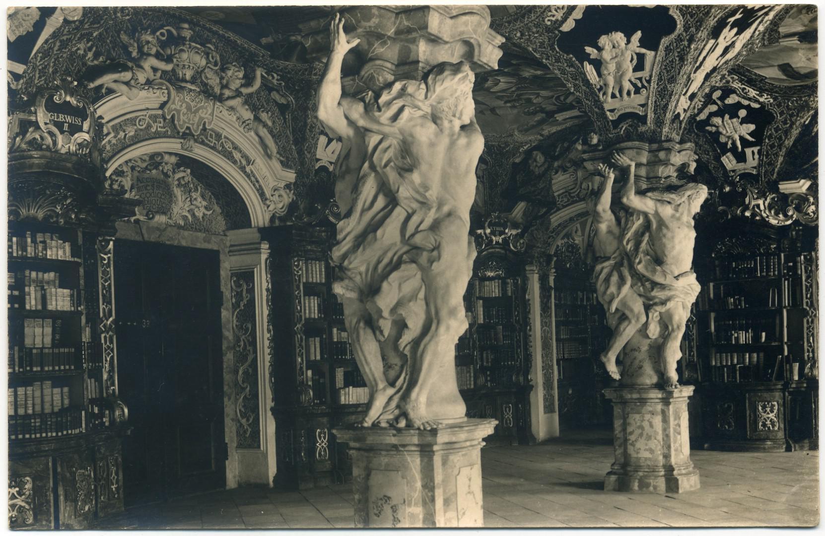 Metten: Klosterbibliothek