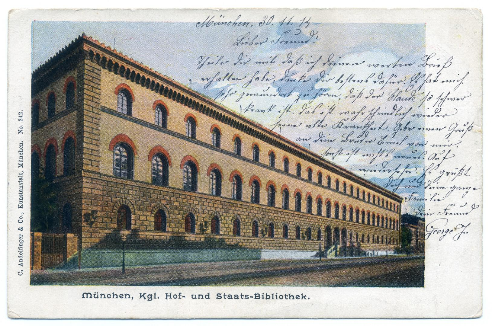 München: Staatsbibliothek
