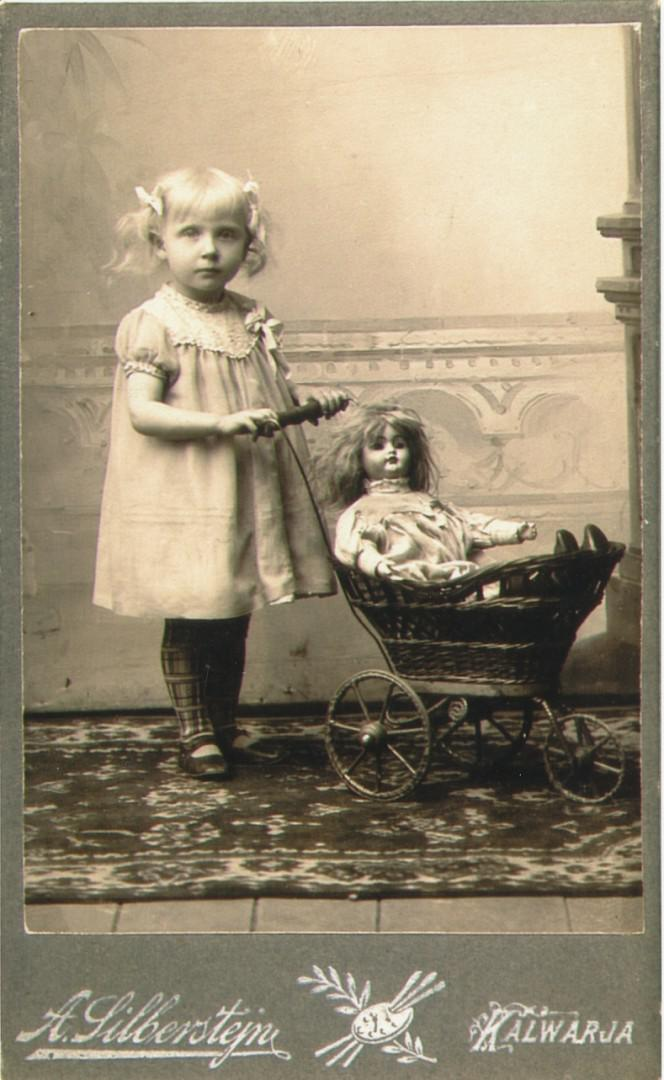 Meine Großmutter als Kind