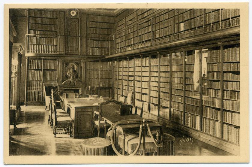 Bibliothek von Schloss Chantilly