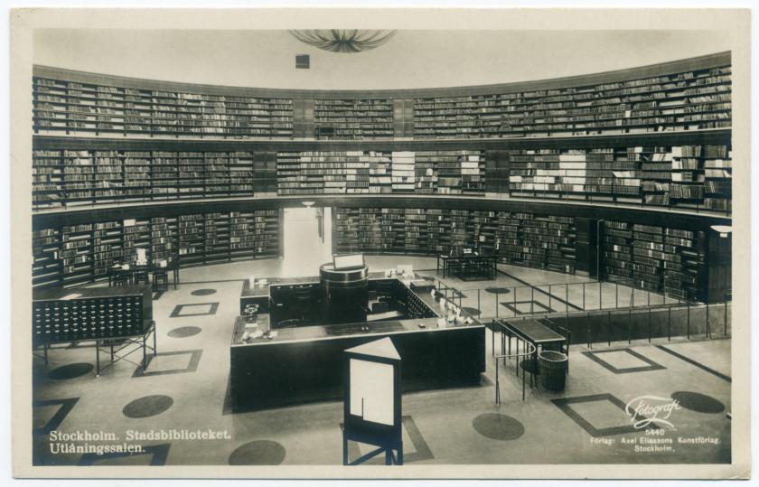 Stockholm: Stadtbibliothek