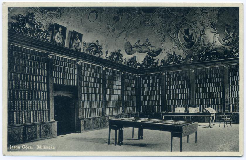 Tschenstochau: Klosterbibliothek Jasna Góra