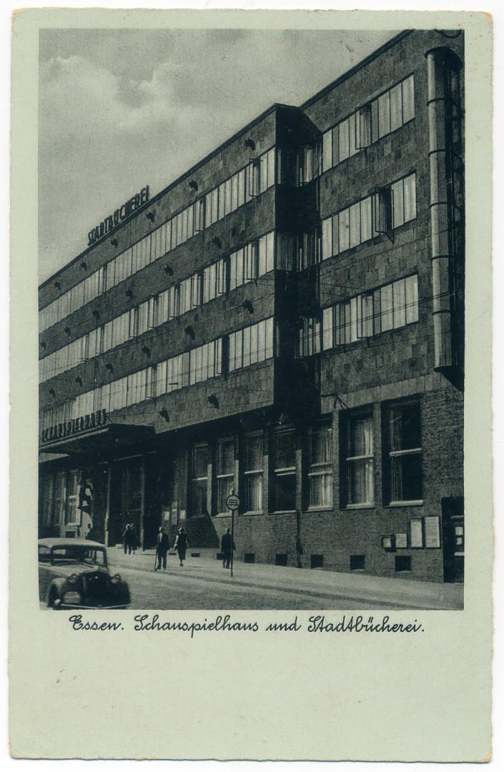 Essen: Stadtbücherei und Schauspielhaus