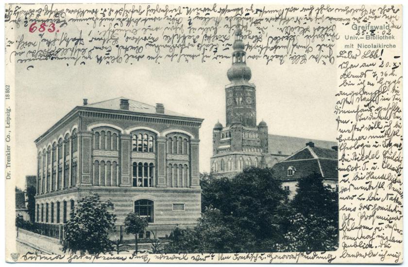Greifswald: Universitätsbibliothek (Gropius-Bau)