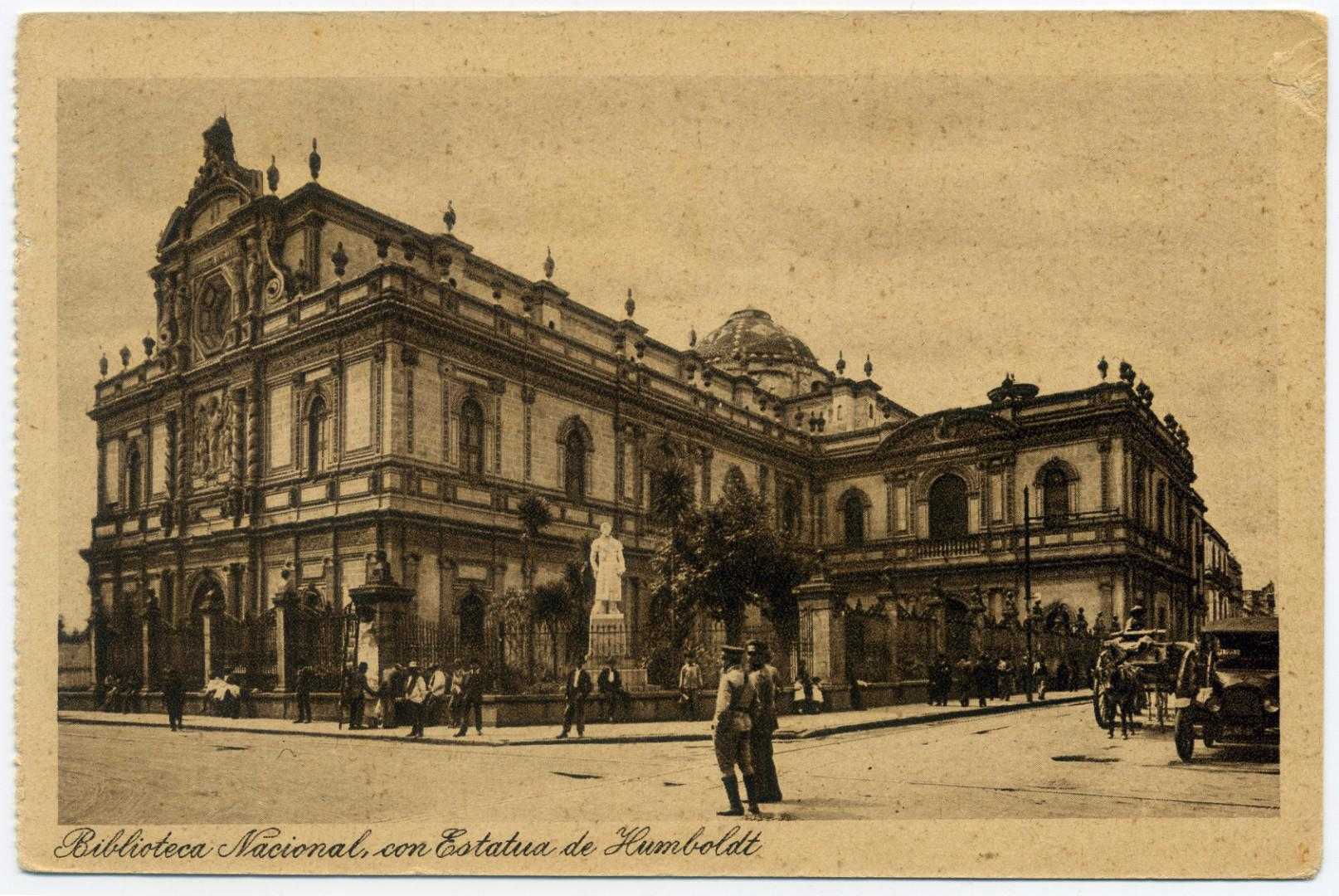 Mexiko-Stadt: Nationalbibliothek