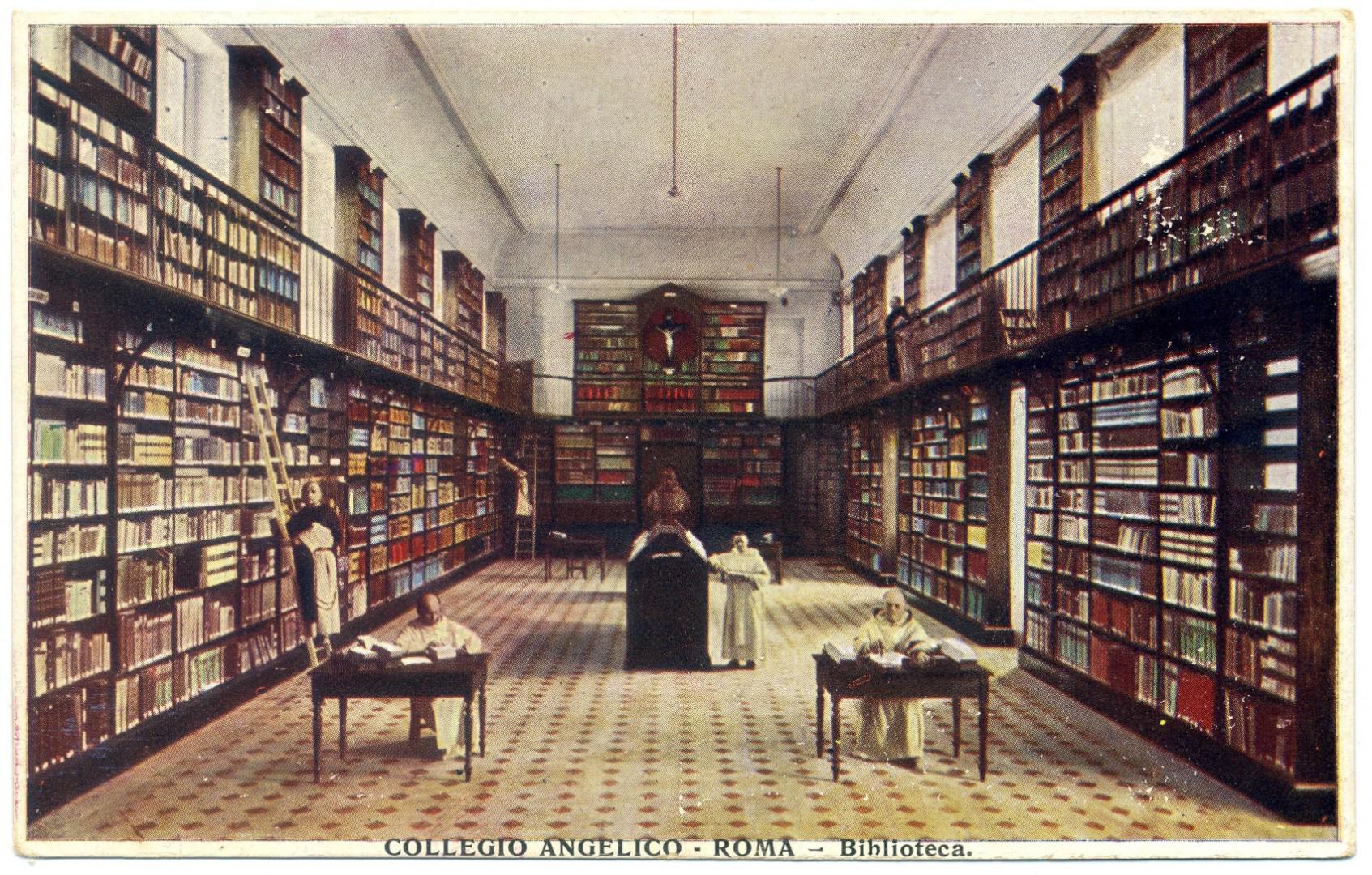Rom: Päpstliche Universität Heiliger Thomas von Aquin, Bibliothek