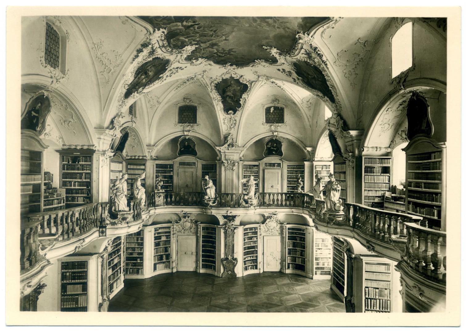 Kloster St. Peter auf dem Schwarzwald, BIbliothek
