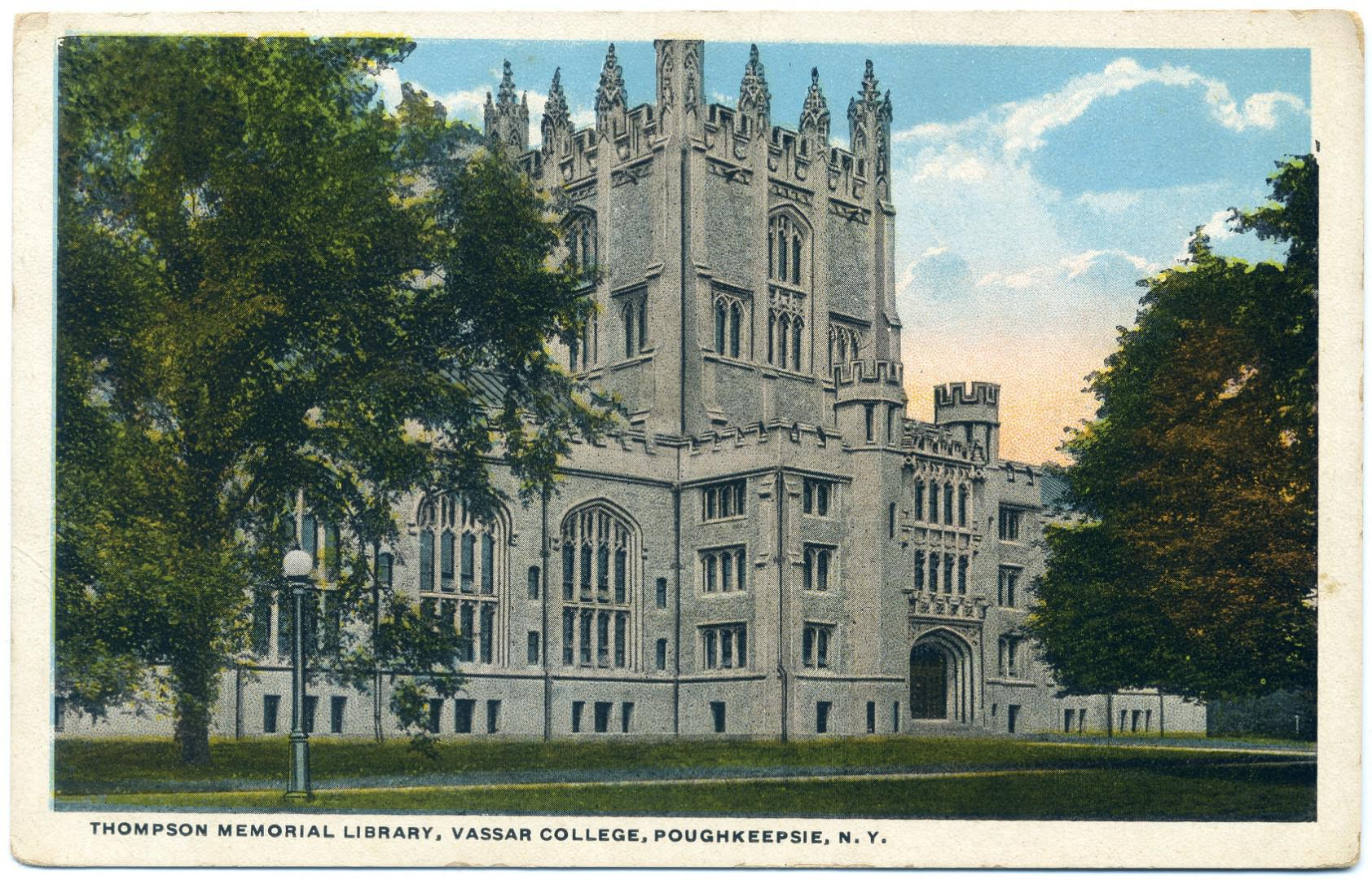 Poughkeepsie: Vassar College, Thompson Memorial Library