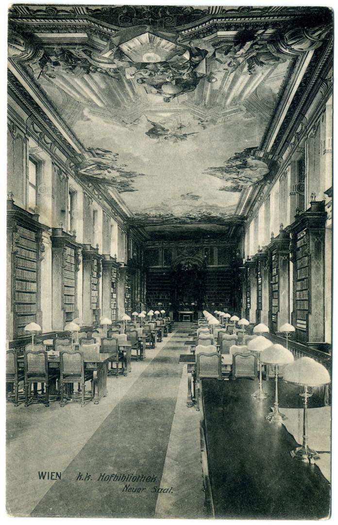 Wien: Hofbibliothek, Augustiner-Lesesaal