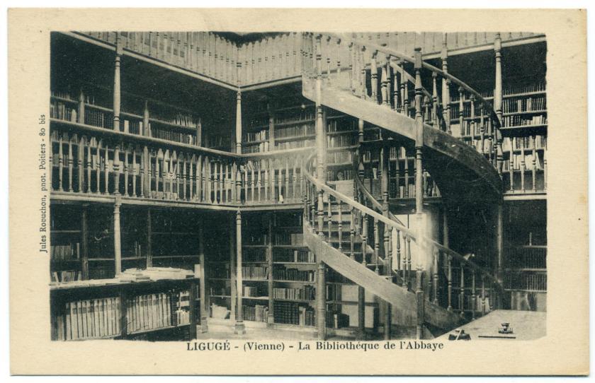 Ligugé: Abtei Saint-Martin, Bibliothèque