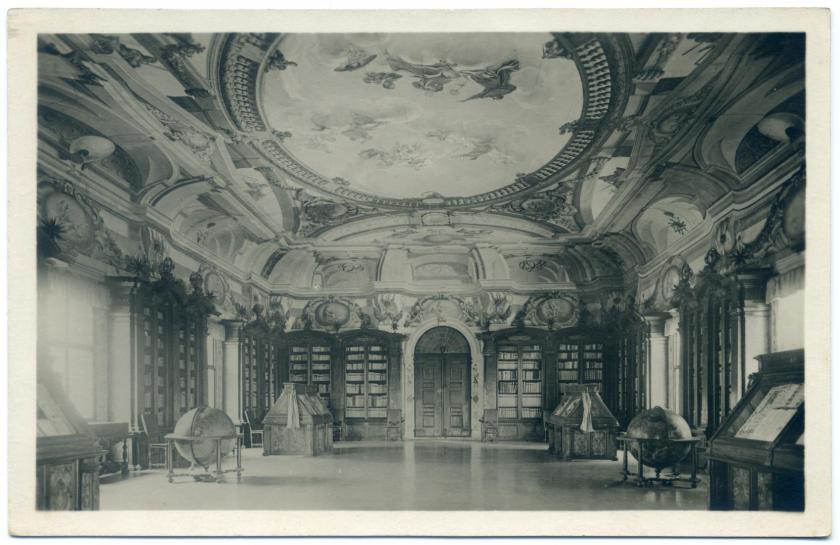 Padua: Biblioteca Antoniana, Salone Settecentesco