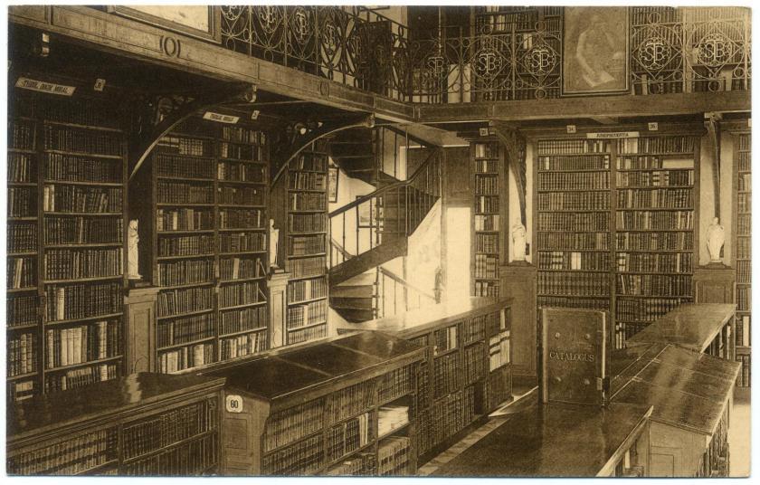 Bibliotheek van de Sint-Bernardusabdij te Bornem