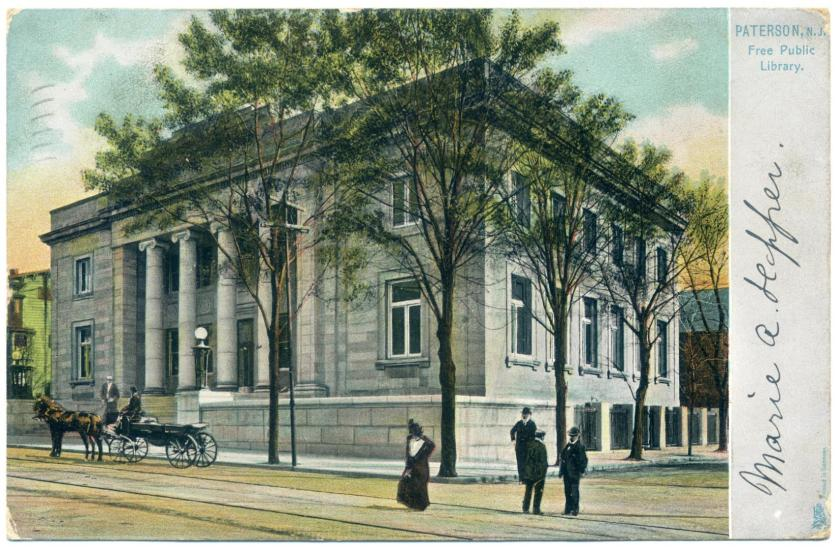 Paterson: Danforth Memorial Library