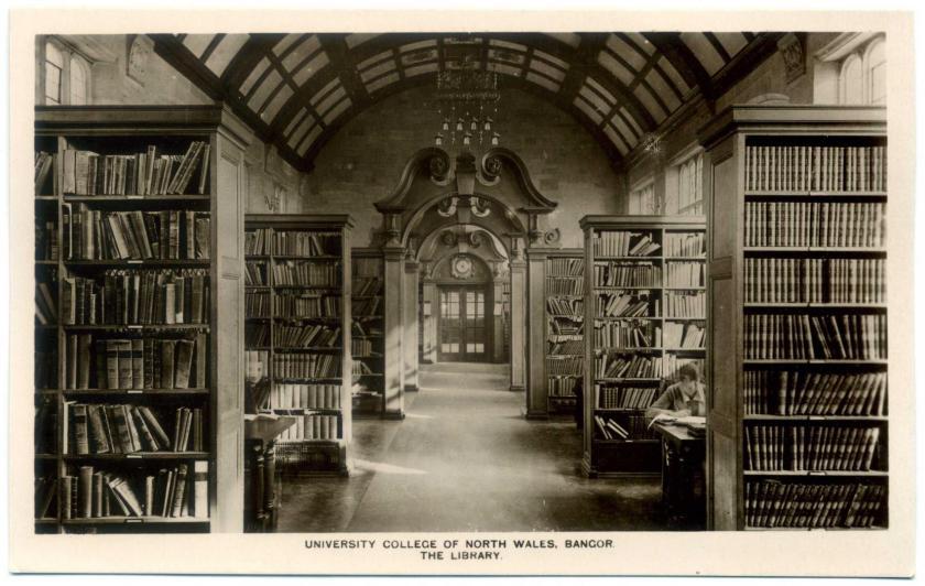 Bangor: University College of North Wales, Bibliothek