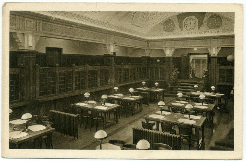 Bouffemont: Le Collège féminin, bibliothèque