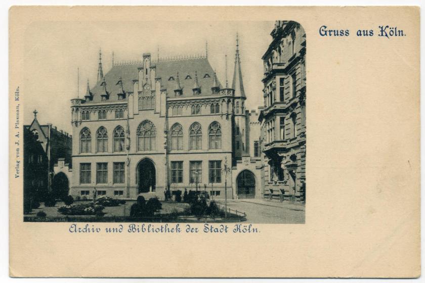 Köln: Städtisches Bibliothek- und Archivgebäude