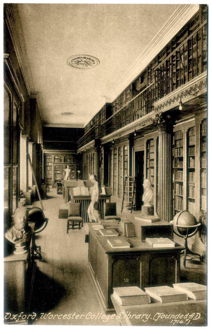 Oxford: Worcester College Library