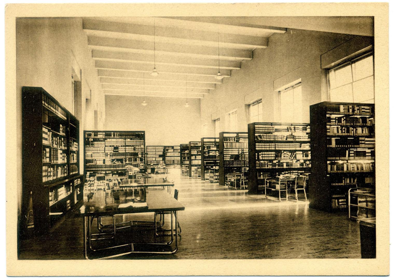 Rom: Universitätsbibliothek (Biblioteca Universitaria Alessandrina)