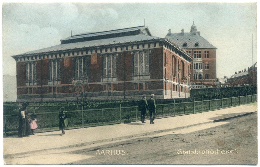Aarhus: Staatsbibliothek (Hack Kampmann, 1902)