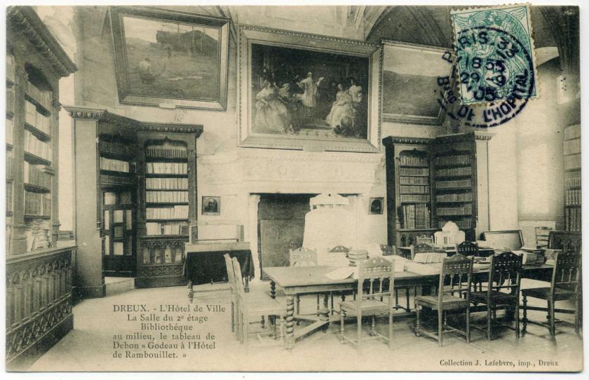 Dreux: Altes Rathaus (Beffroi de Dreux), Bibliothek