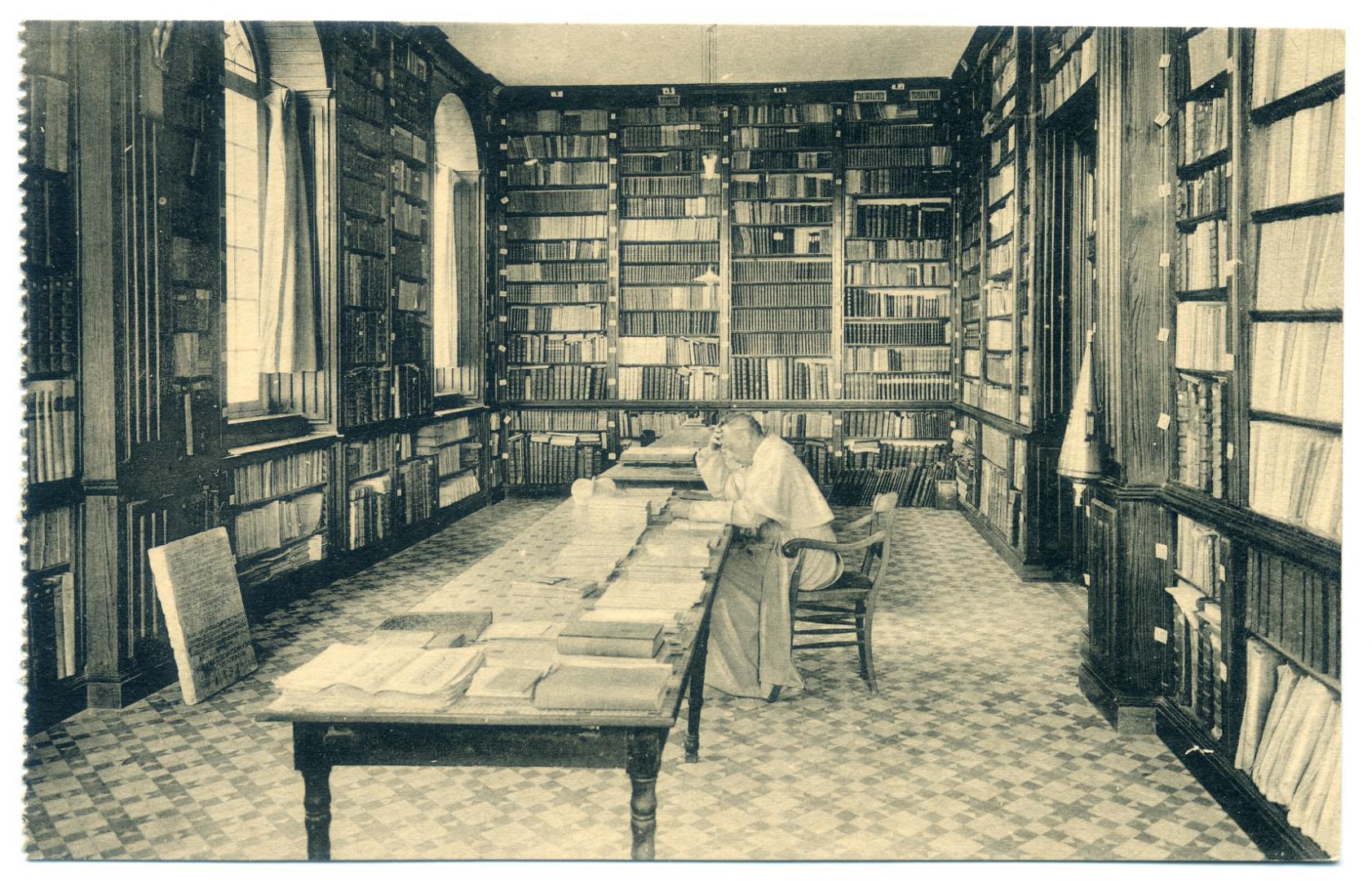 Abtei Grimbergen, Bibliothek