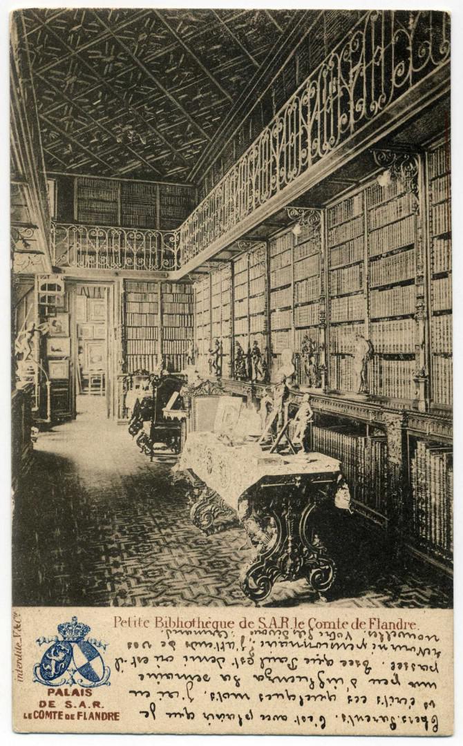 Brüssel: Palais des Grafen von Flandern, Bibliothek