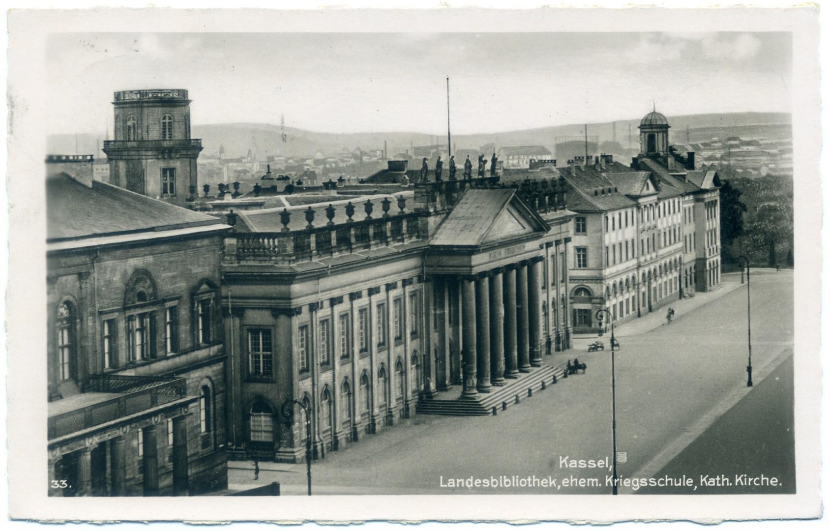 Kassel: Landesbibliothek (Museum Fridericianum)