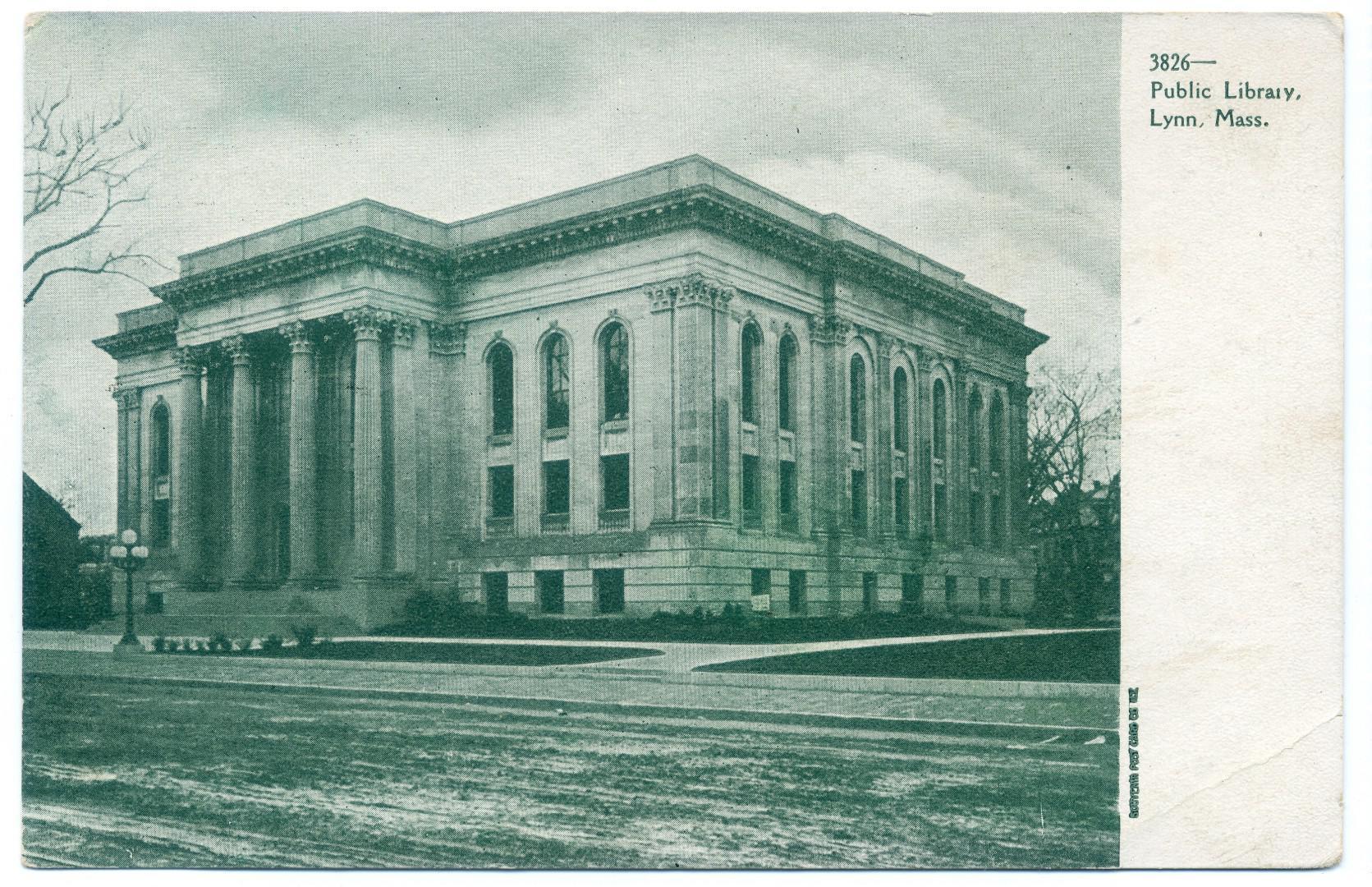 Lynn: Public Library (George A. Moore, 1900)