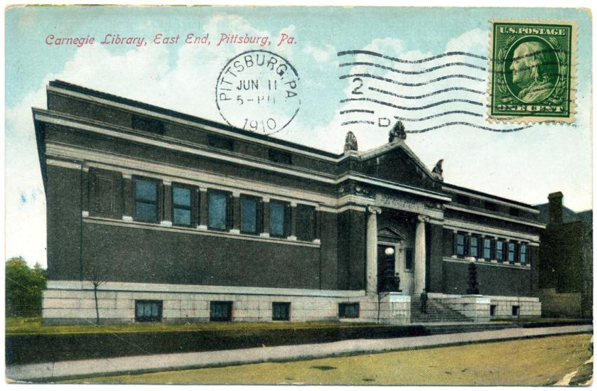 Pittsburgh: East Liberty Carnegie Library