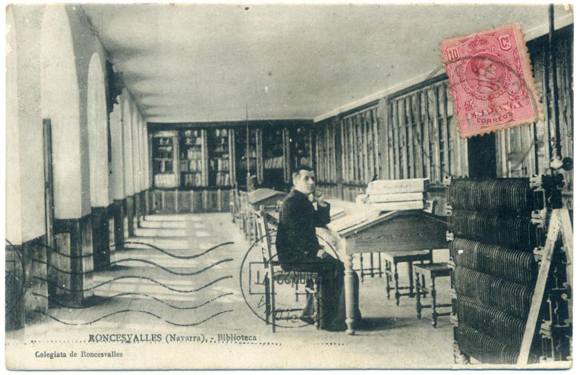 Roncesvalles: Klosterbibliothek