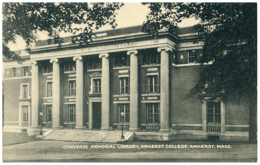 Amherst College: Converse Memorial Library