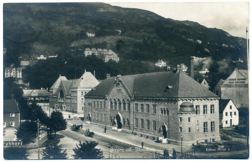 Bergen: Öffentliche Bibliothek (Olaf Nordhagen)