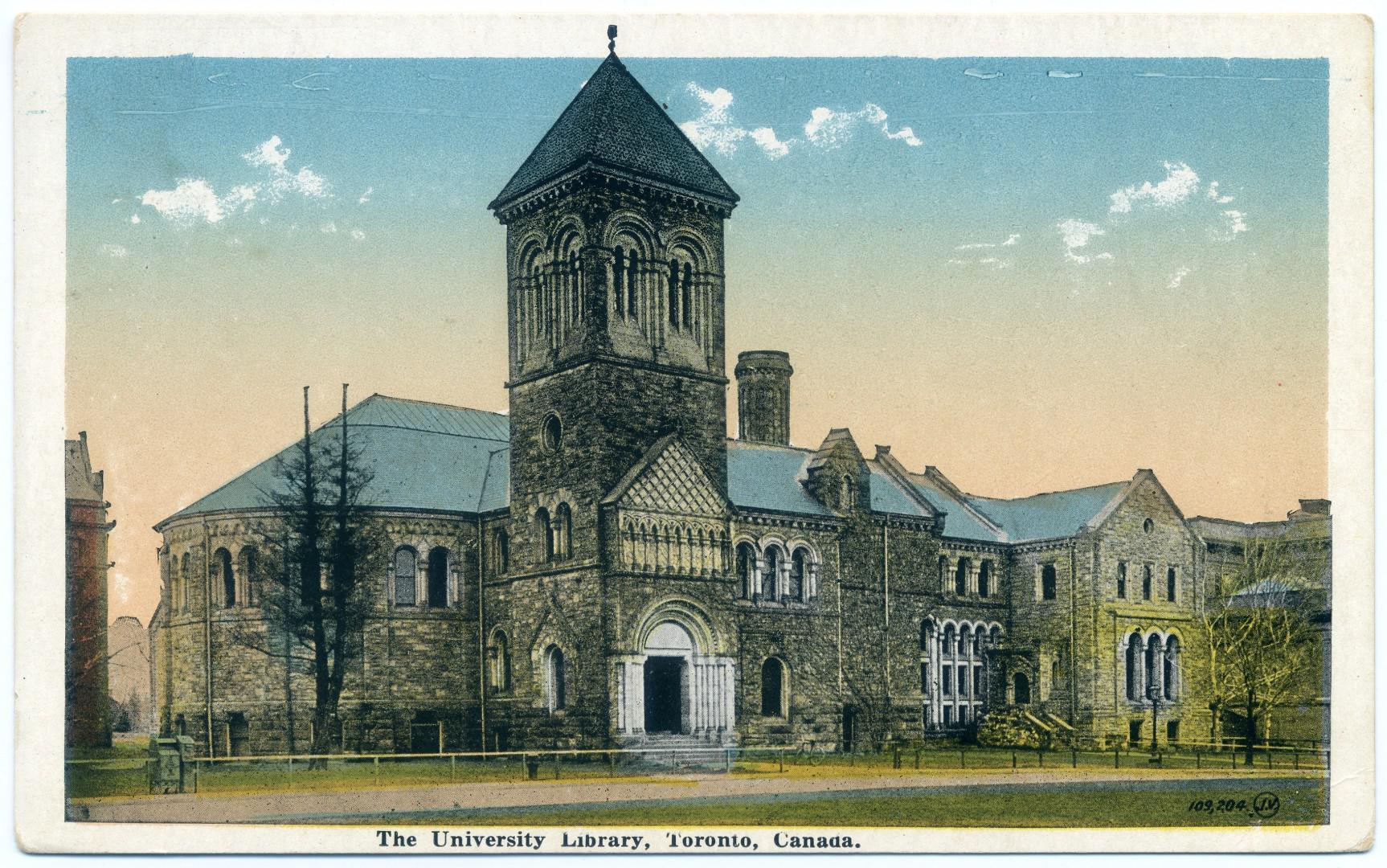 Toronto: Universitätsbibliothek (heute Gerstein Science Information Centre)