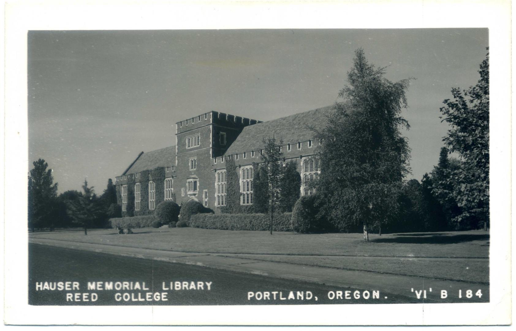 Portland (Oregon): Reed College, Hauser Memorial Library