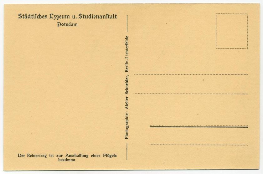 Potsdam Lyzeum Bibliothek r