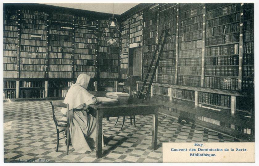 Huy Dominikanerkonvent La Sarte Bibliothek