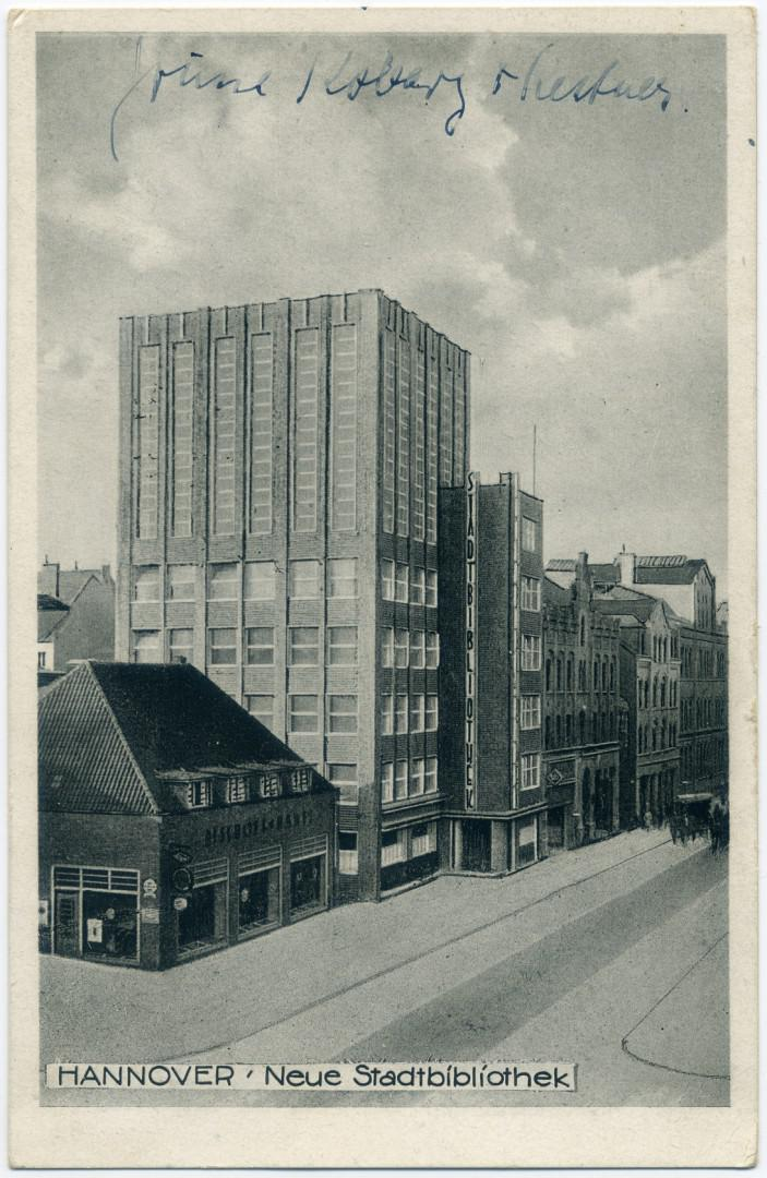 Stadtbibliothek Hannover 1931