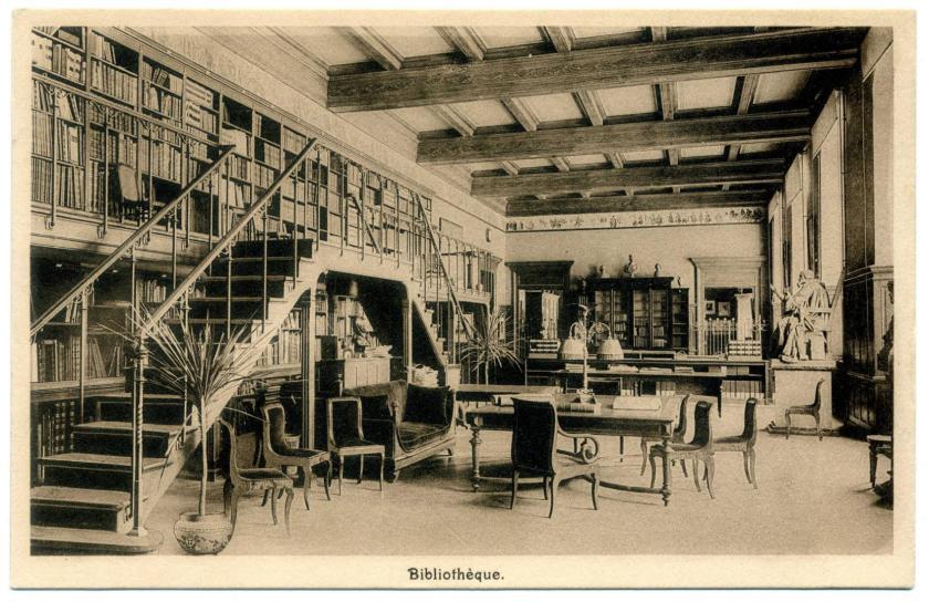 Genf: Musée d'art et d'histoire, Bibliothek