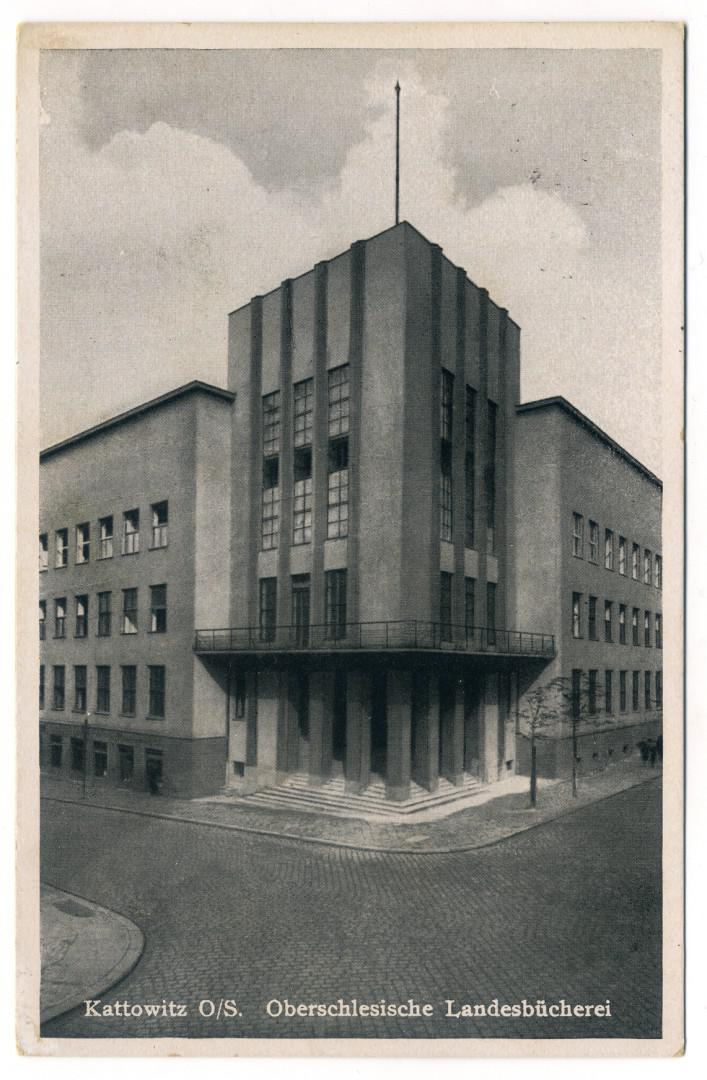 Kattowitz: Oberschlesische Landesbibliothek (Dom Oświatowy - Biblioteka Śląska)