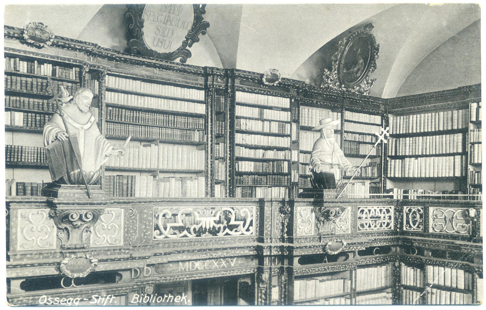 Klosterbibliothek Osek (Ossegg) - Zisterzienser