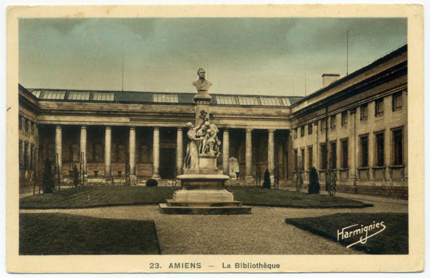 Amiens: Bibliothèque Louis Aragon