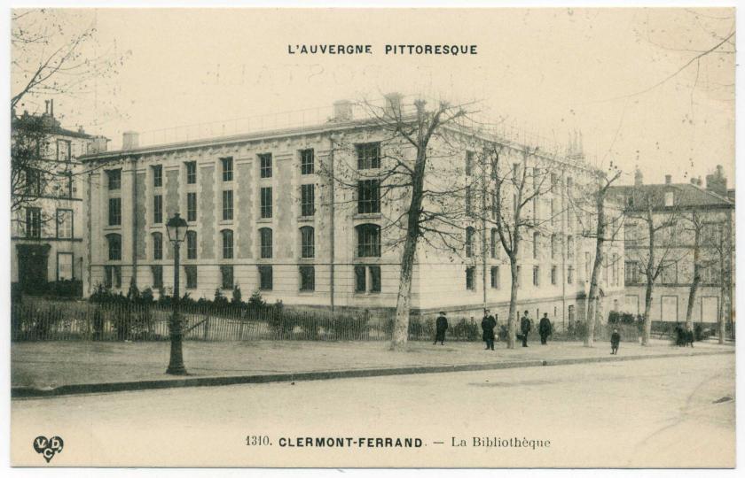 Clermont-Ferrand: Stadt- und Universitätsbibliothek