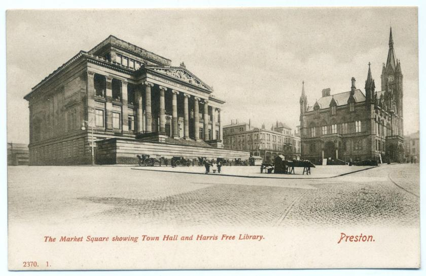 Preston: Harris Free Library and Town Hall