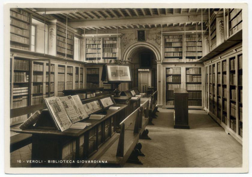 Veroli: Biblioteca Giovardiana (1773)
