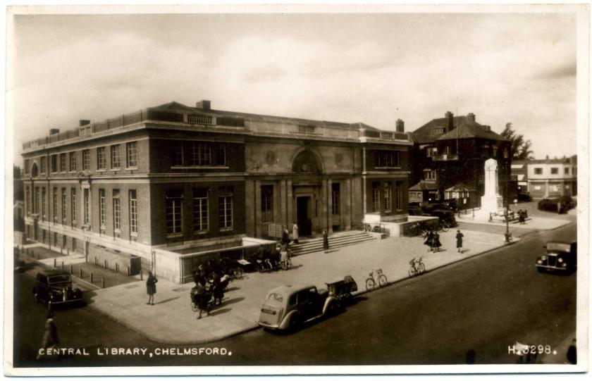 Chelmsford Central Library (Civic Centre)