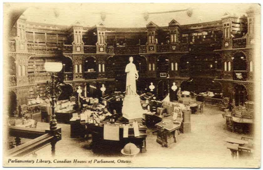 Ottawa: Parlamentsbibliothek